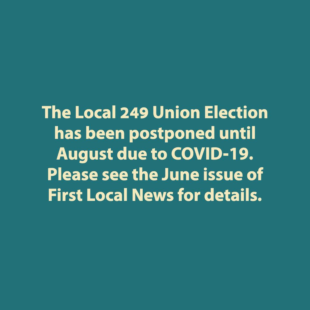 Elections Postponed